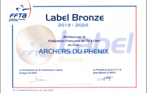 Label de Bronze 2019/2020